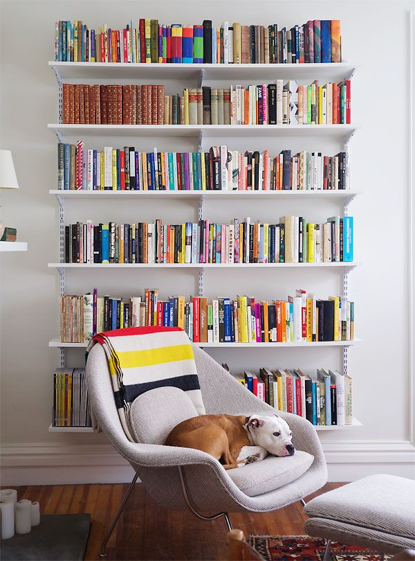 Librero y decoraci n con polimob depa de soltera - Libros de decoracion de interiores ...