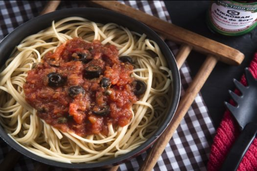Receta: Pasta Puttanesca