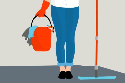 Servicio de limpieza a domicilio… un win en la vida independiente